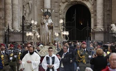Valencia se vuelca con la festividad de San Vicente