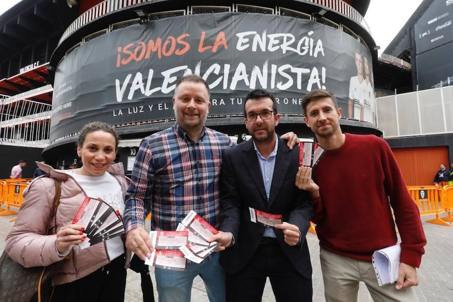 El Valencia pone a la venta 1.529 entradas para la final de la Copa que no han sido adquiridas por los abonados