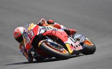 Carrera de MotoGP en Jerez: Márquez gana y triplete español