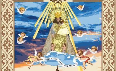 Así será el tapiz de la Virgen