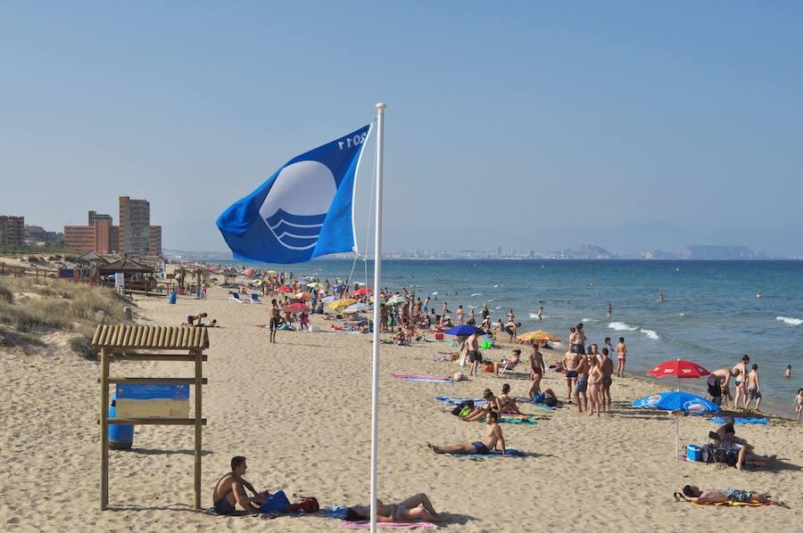 Listado de playas de Valencia, Alicante y Castellón con bandera azul en 2019