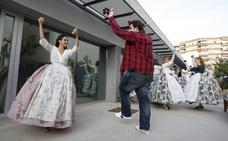 Últimos ensayos para la dansà popular a la Virgen