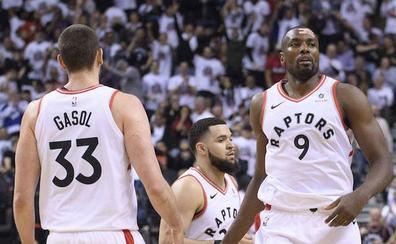 Los Raptors destrozan a los Sixers y se ponen a un partido de la Final del Este