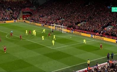 ¿Qué pasó en el cuarto gol del Liverpool al Barcelona?