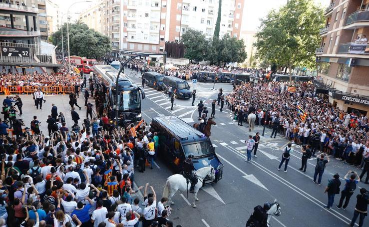 Así ha recibido la afición del Valencia al equipo