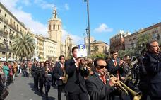 Cuatro pasacalles por Valencia para celebrar hoy el Día de Europa