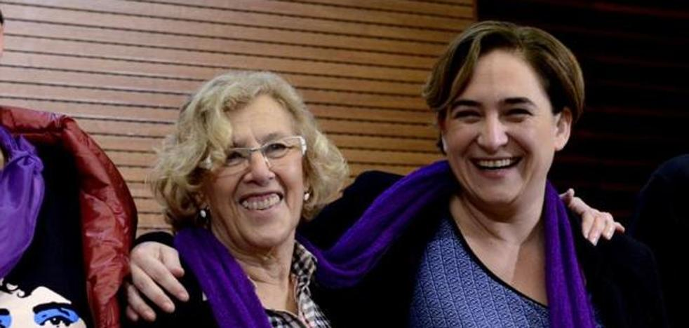El CIS en Madrid y Barcelona: Carmena y Colau, alcaldesas. Así será el reparto de escaños