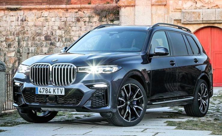 El espectacular BMW X7, por dentro y por fuera