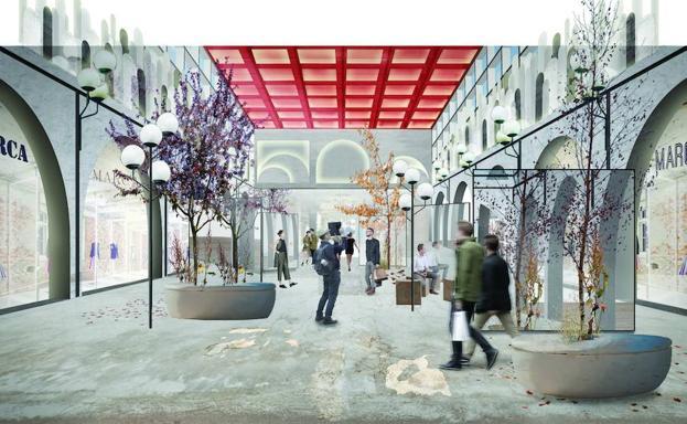 c07d3a49fd1e El Corte Inglés abrirá en Valencia un nuevo tipo de centro comercial ...