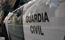 La Guardia Civil interviene más de 510 kg de hachís en 17 fardos en un coche en Sagunto