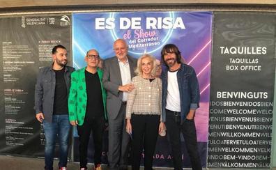 AVE estrena en Les Arts el show de monólogos con Santi Millán y Corbacho que reivindica el Corredor Mediterráneo