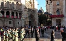Valencia se vuelca con la Procesión de la Virgen