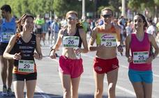 La participación femenina en la Volta a Peu de Valencia supera a la masculina