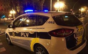 Detenido por agredir a su mujer delante de sus tres hijos en Valencia