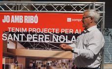 Ribó promete rehabilitar el mercado de San Pedro Nolasco el próximo mandato