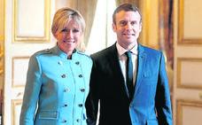 La vida de la primera dama de Francia