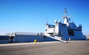El puerto de Valencia acoge un ejercicio de seguridad marítima antiterrorista