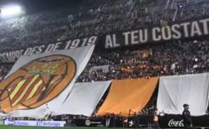 Rapeando en homenaje al centenario del Valencia CF
