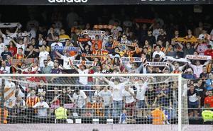 El Valencia veta a la Curva Nord para el desplazamiento masivo a Valladolid