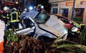 El conductor del BMW que se estrelló en Fernando el Católico muere tres días después del accidente