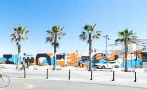 La Marina de Valencia se transforma en un gran lienzo urbano