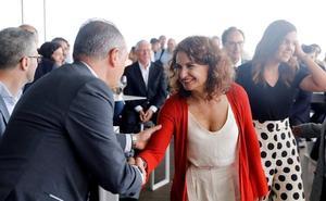 Montero: «Asumir la deuda de La Marina es un compromiso ineludible»