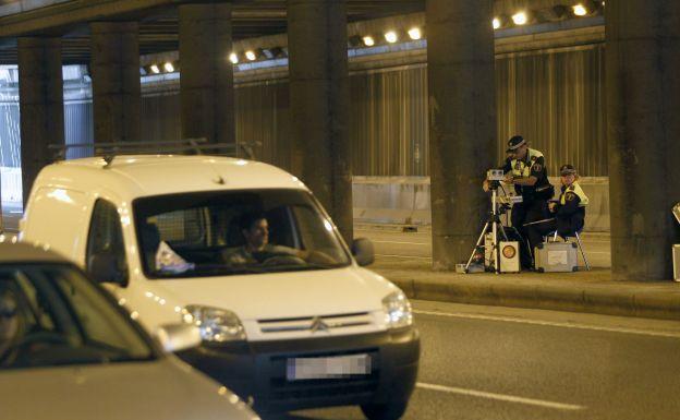 La Policía Local coloca hoy radares móviles en 11 avenidas de Valencia