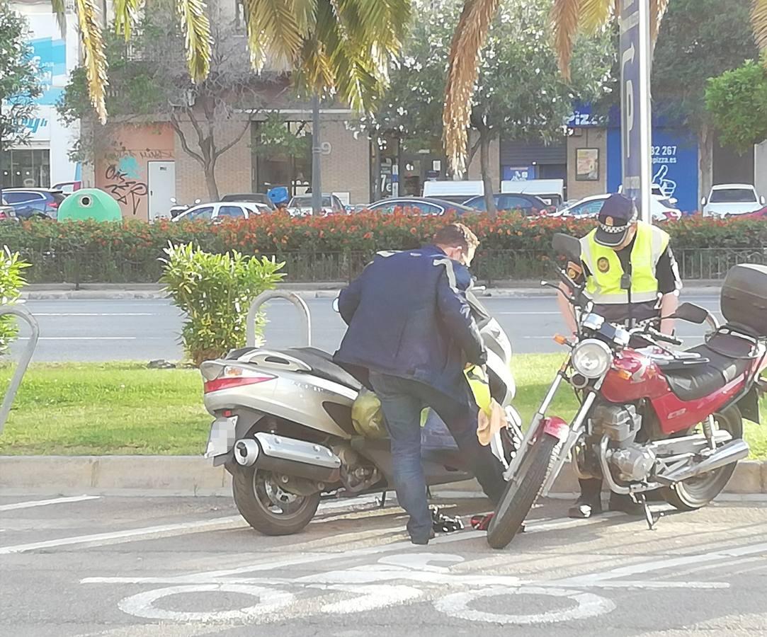 Guedes, involucrado en un accidente leve en Valencia