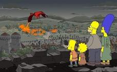 Los Simpson también predijeron el final de 'Juego de Tronos'