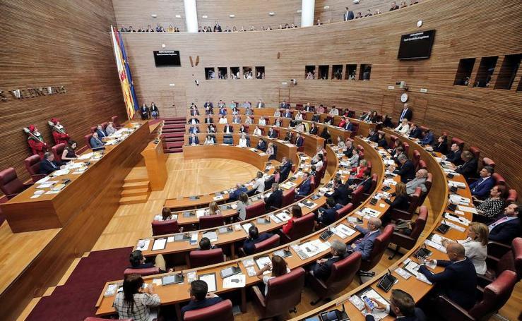 Inicio de la X legislatura de Les Corts Valencianes