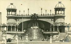 La Fuente Luminosa de la Exposición Regional de Valencia de 1909