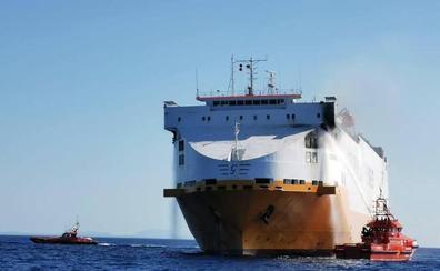 Ford reprograma la exportación de modelos a Reino Unido por el incendio de un buque