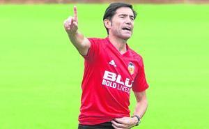 Marcelino clama, a gritos: «Goles, goles y goles»