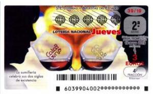 Los dos premios de la Lotería Nacional, en Valencia y Sagunto