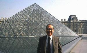 Muere a los 102 años el arquitecto Ieoh Ming Pei, padre de la pirámide del Louvre