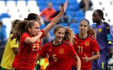 España vence con solvencia a Camerún