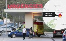 Una anciana de 94 años, herida en un incendio en Villar del Arzobispo
