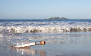 Hallan en una remota isla de Japón un mensaje en una botella escrito en español