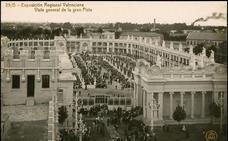 La Gran Pista de la Exposición Regional de Valencia de 1909