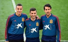 Tres jugadores del Valencia CF, en la lista de la selección española