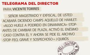 Telegrama para Vicente Torres