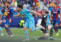 El Levante-Atlético de Madrid en imágenes