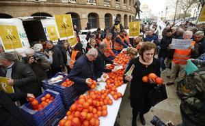 La naranja de Egipto come el mercado europeo a la española de marzo a junio