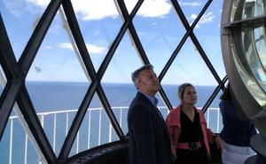Xàbia busca en Europa fondos para rehabilitar el faro del Cap de Sant Antoni