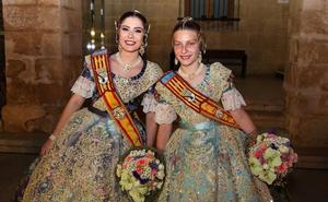 Safir Malonda y la niña Martina Gimeno, elegidas falleras mayores de Dénia 2020