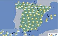 Previsión del tiempo para el lunes 20 de mayo en toda España
