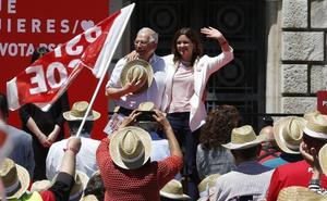 Sandra Gómez reivindica el centro político a una semana de las elecciones