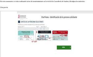 La web de Sanidad se atasca tras la publicación de los listados de la bolsa de empleo