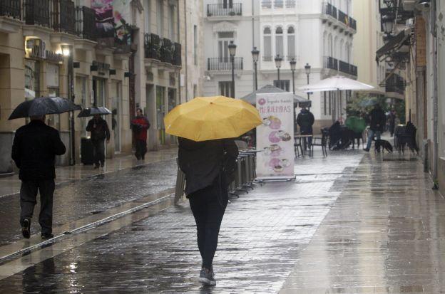Valencia, en aviso amarillo por lluvias y tormentas durante este martes