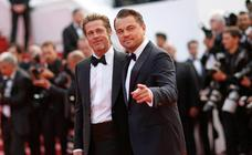 Brad Pitt y Leonardo DiCaprio revolucionan la alfombra roja de Cannes 2019